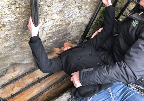Shari-Kissing-Blarney-Stone-Ireland