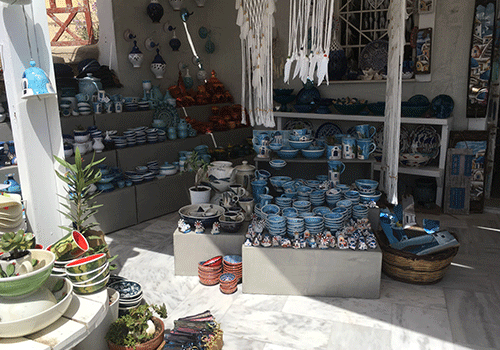 Santorini-shop