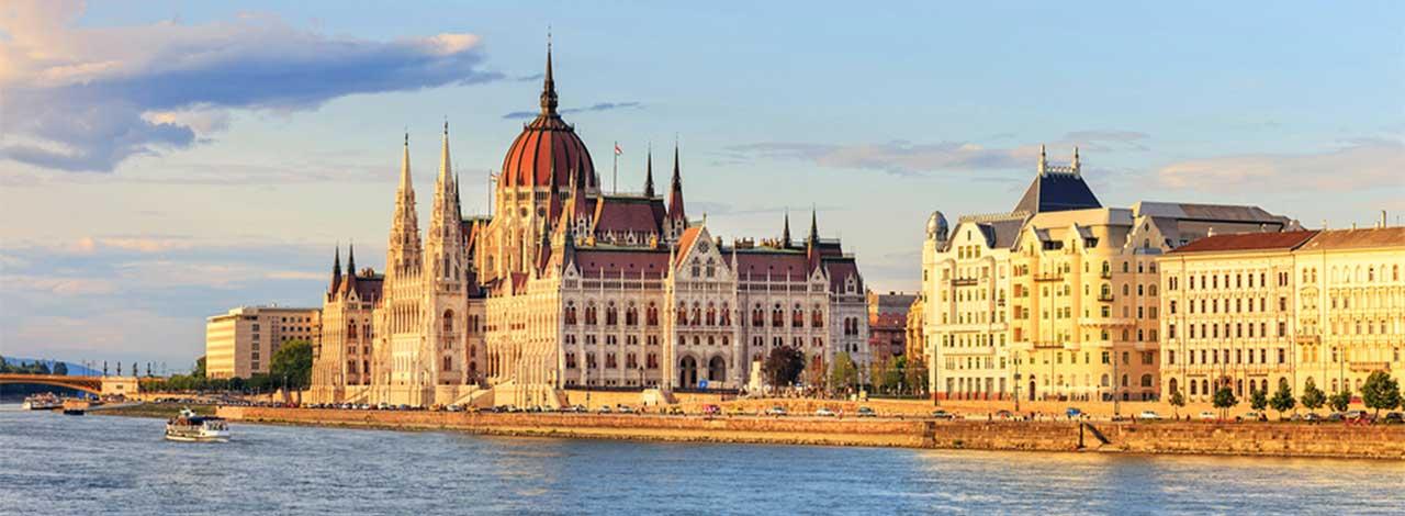 Budapest - parliament Buildings