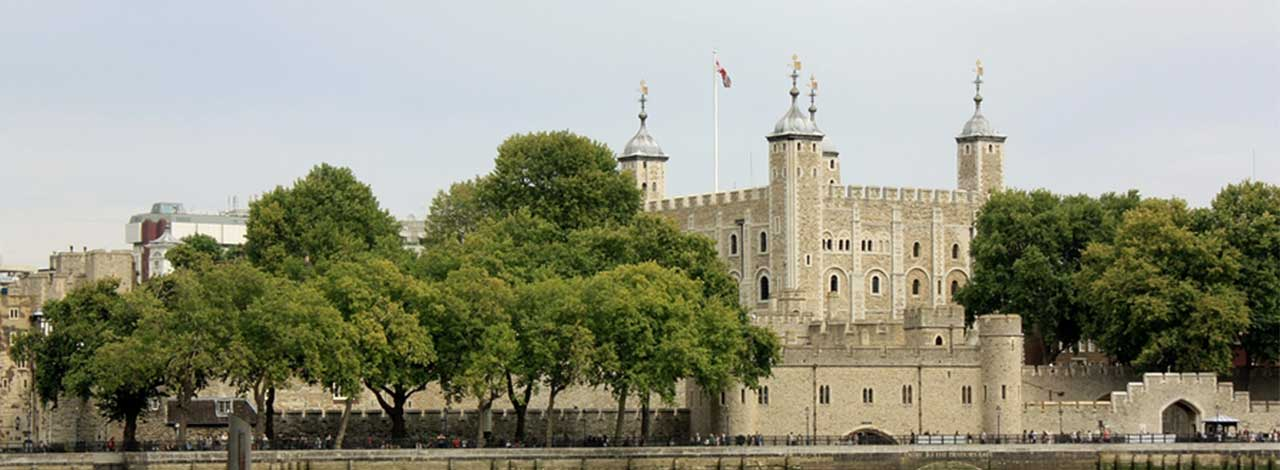 Tower of London - Tower from the Thames